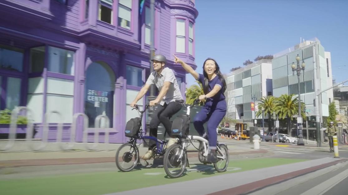 Brompton Electric, Brompton Electric San Francisco 2020