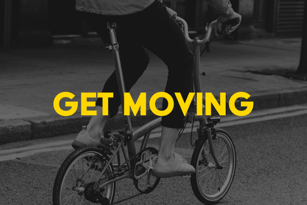 get moving