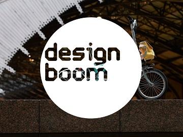 folding bike designboom logo